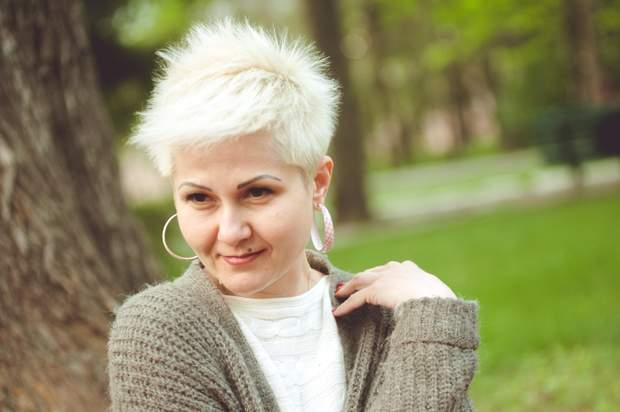 Волонтер Киевского военного госпиталя Екатерина Ольховик