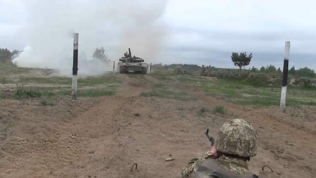 На Житомирщині проходять військові навчання