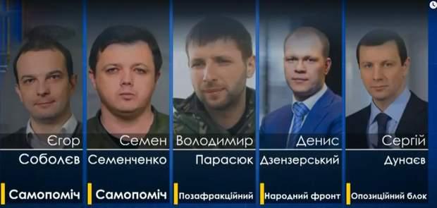 Нардепи, на які Луценко анонсував подання