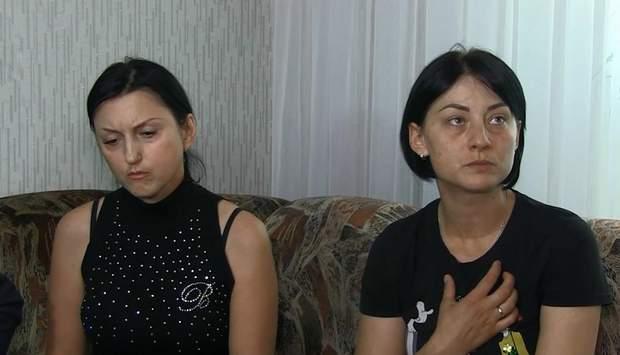 Дружини загиблих моряків