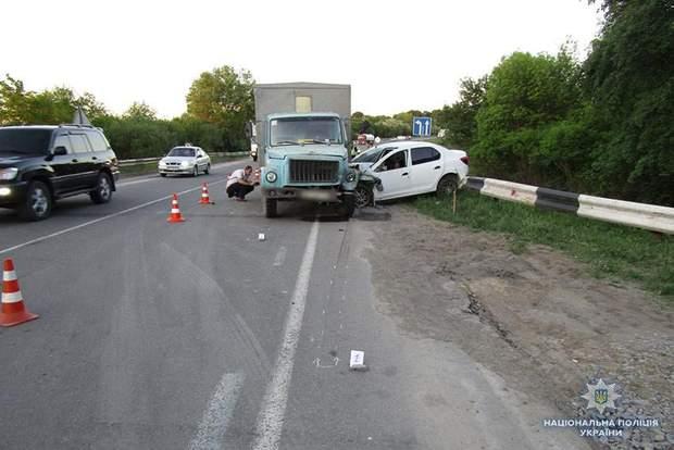 Аварія на Хмельниччині
