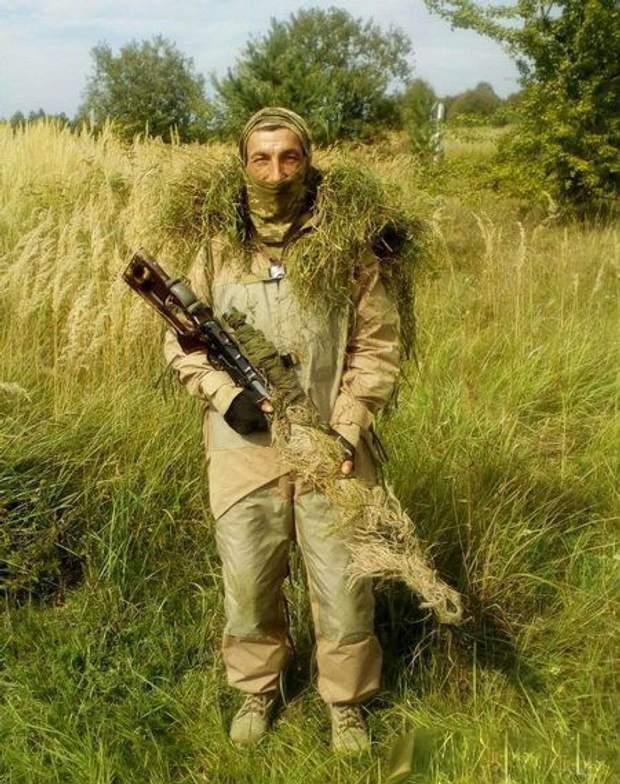Військовий 95-ї бригади Сергій Горбач