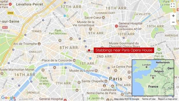 Напад Париж Франція
