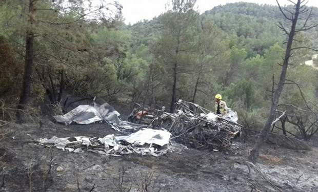 Іспанія літак катастрофа жертви