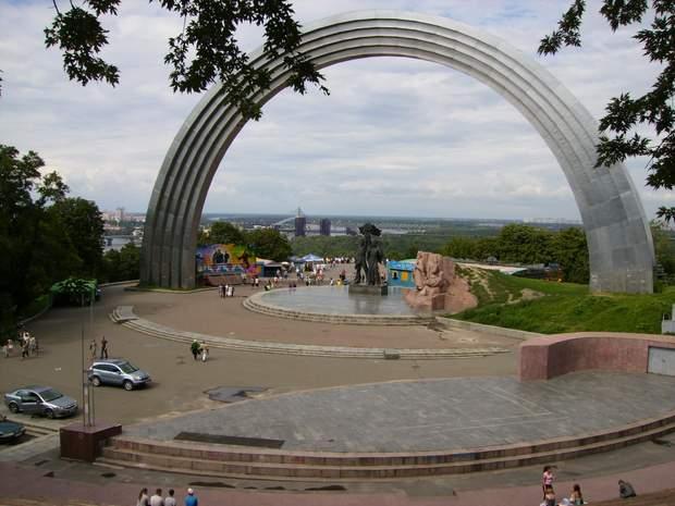 З Хрещатого парку відкриється неймовірна панорама на місто