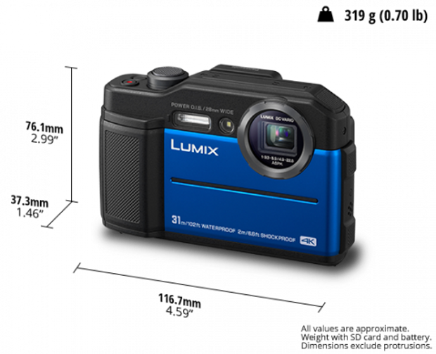 LUMIX Digital Camera DC-FT7