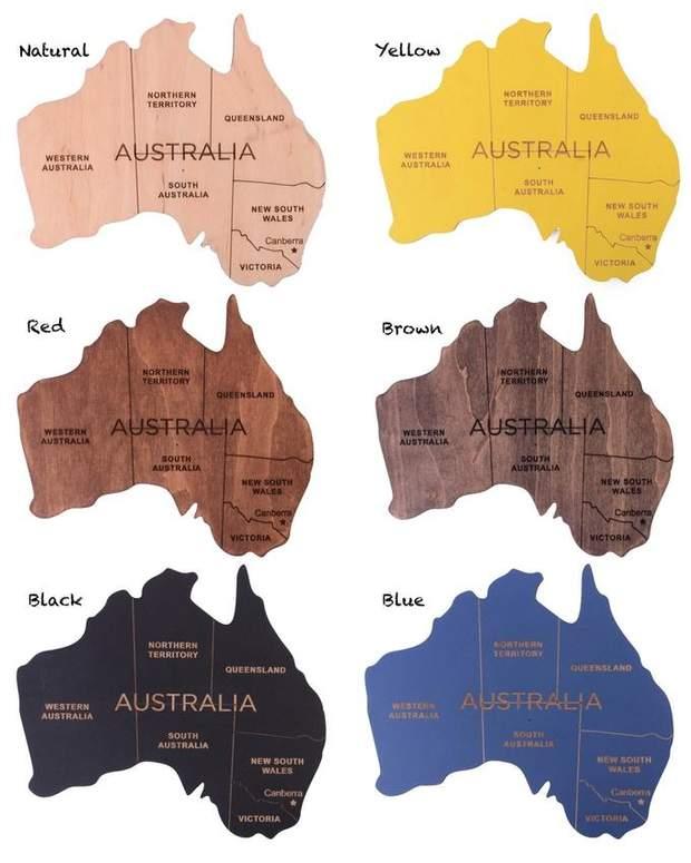Різні кольори мап