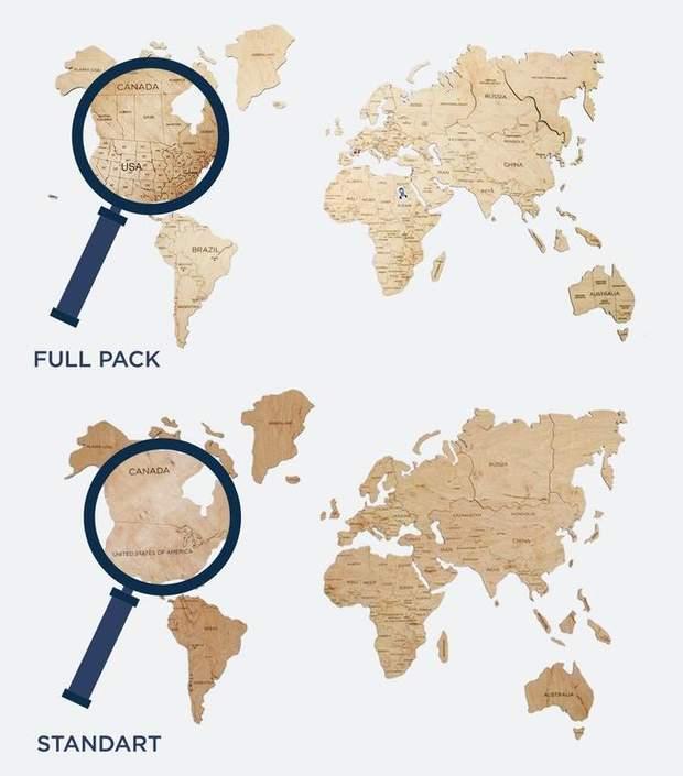 Один з типів мапи, де присутній поділ на штати