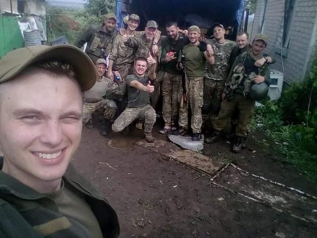 Бійці 24 ОМБр війна на Донбасі
