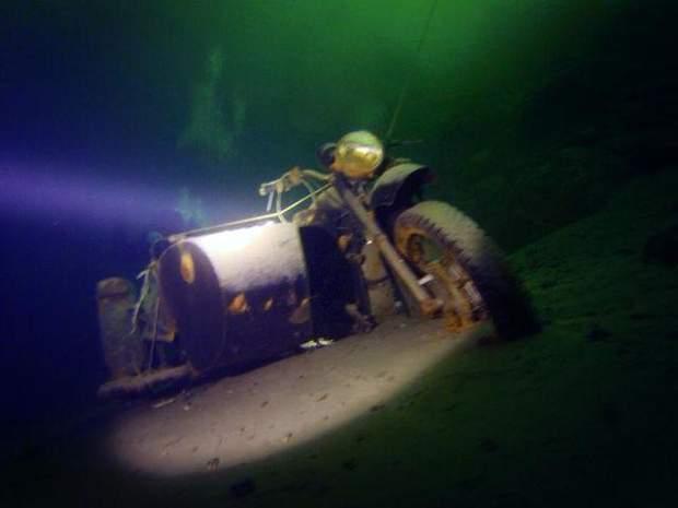 Підводний музей на Дніпропетровщині