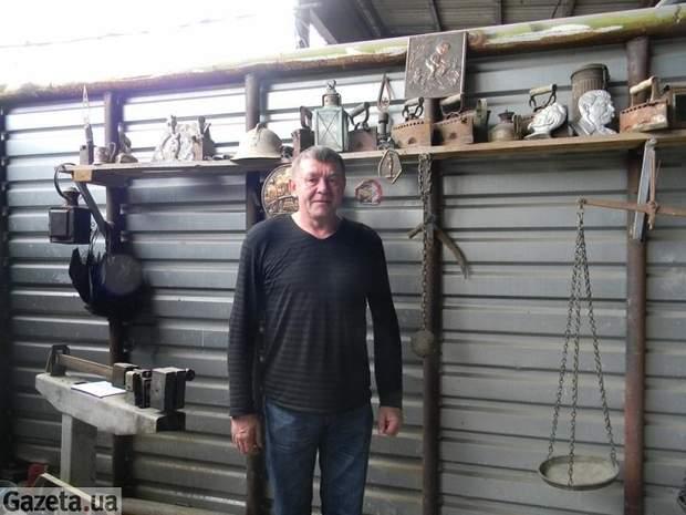 В'ячеслав Воєводін – засновник музею