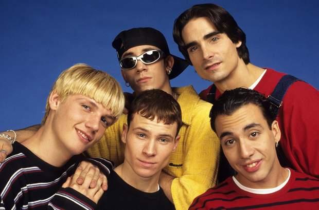 Гурт Backstreet Boys в минулому