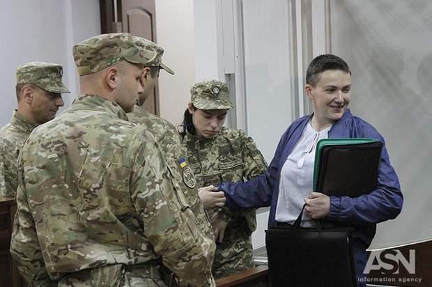 Сестра Савченко каже, що Надія схудла на 17 кг
