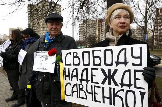 Багатотисячних мітингів на свою підтримку Савченко більше не збирає