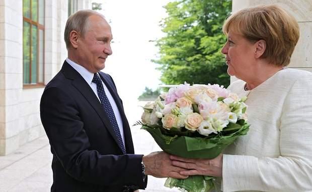 Путін Меркель Росія Україна