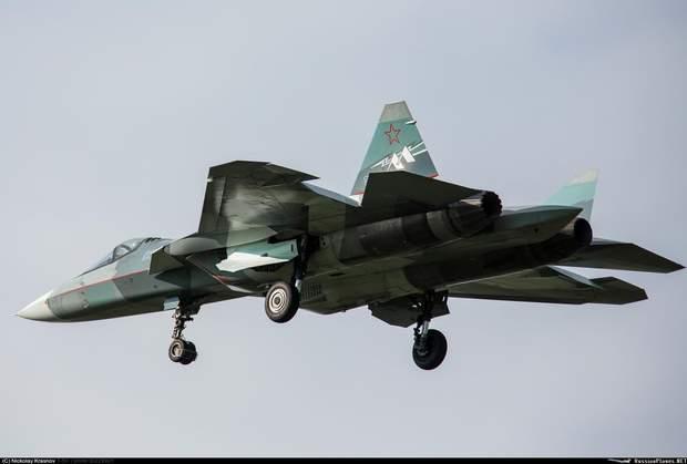 Росія літак винищувач
