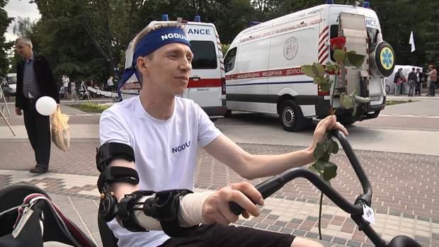 Ветеран війни на Донбасі Ілля Карпов