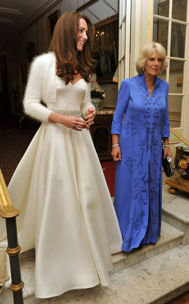 Друга весільна сукня Кейт Міддлтон 29 квітня 2011 року