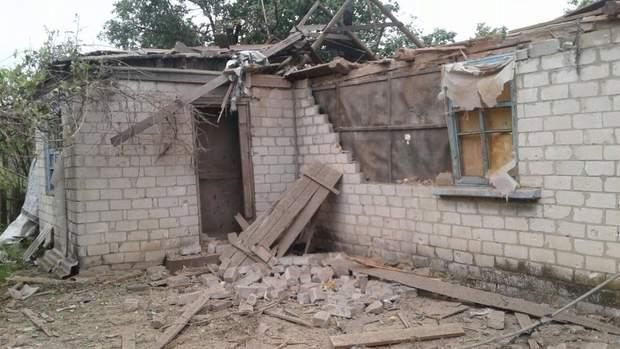 Проросійські бойовики обстріляли Зайцеве
