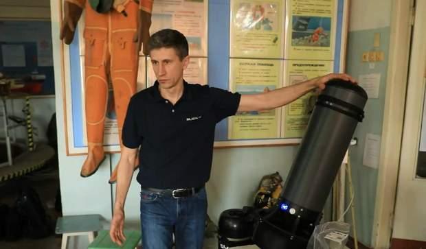 Інструктор школи військових водолазів Максим Кривоніс