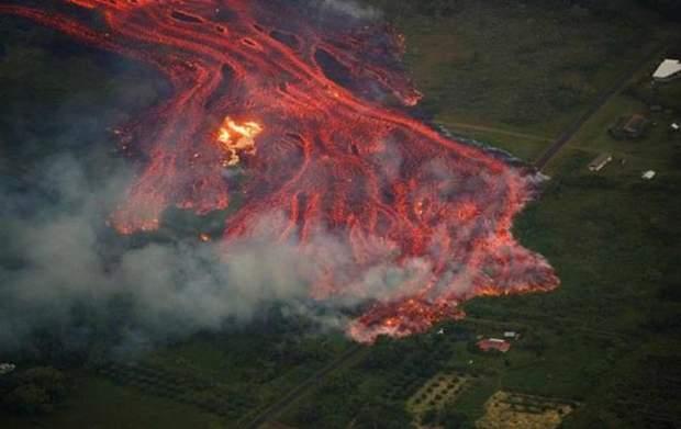 Виверження вулкану на Гаваях