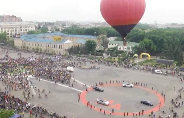 Велокарнавал у Харкові