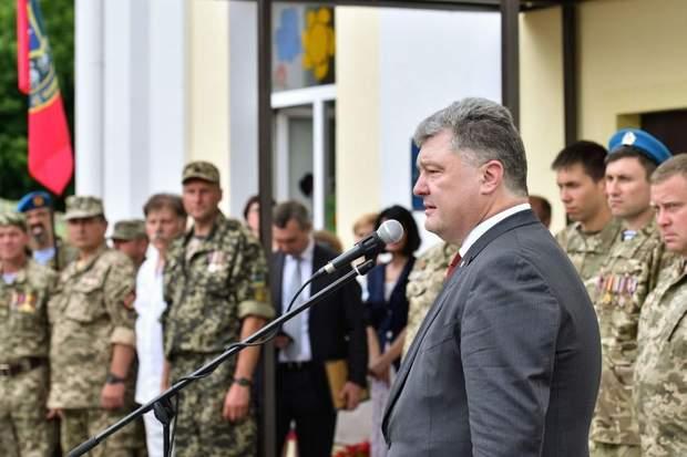 Петро Порошенко підтримав ідею створення міністерства ветеранів