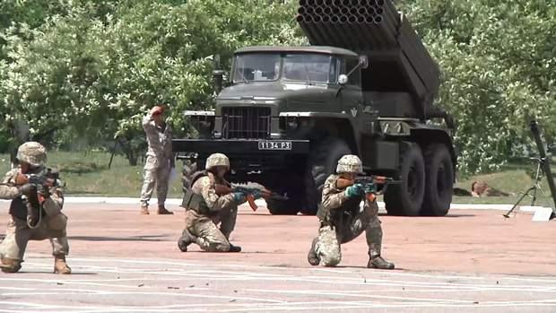 Навчальний центр десантно-штурмових військ у Житомирі