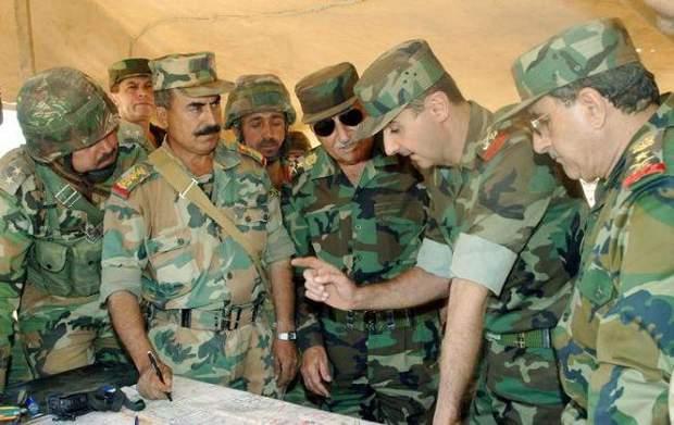 Війська Асада Башара звільнили Дамаск