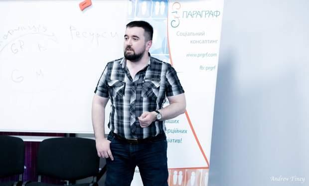 Державний експерт Директорату захисту прав осіб з інвалідністю Міністерства соціальної політики України Олексій Краснощоков