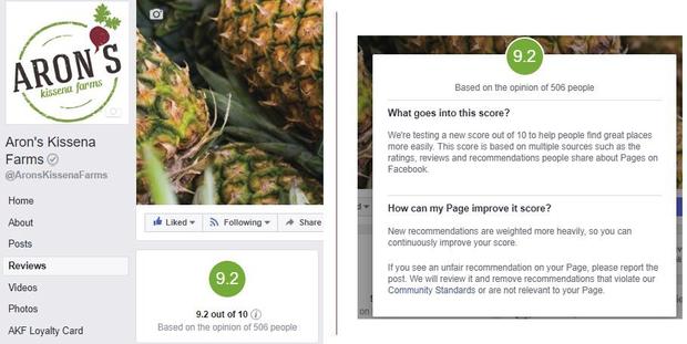facebook, рейтинг сторінок, оцінка, лайки, фейсбук