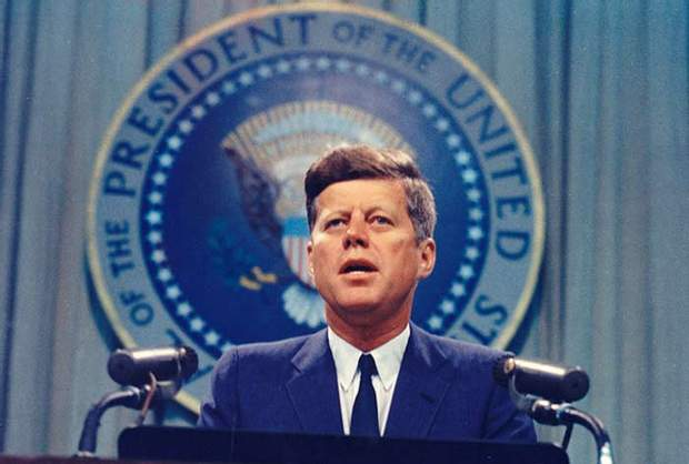 Джон Кеннеді на посаді президента