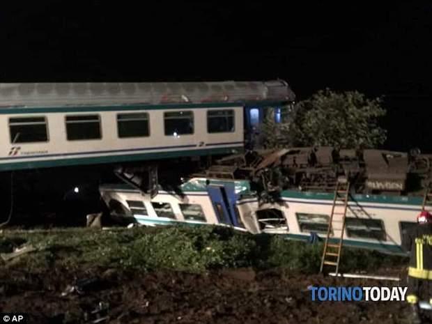 Аварія у Турині, Італія