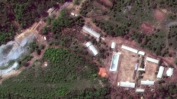 КНДР демонтувала ядерний полігон
