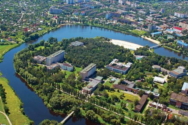 Корисні води у Миргороді