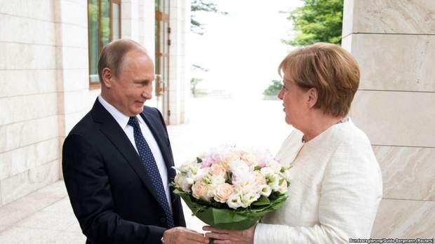 Зустріч Путіна із Меркель