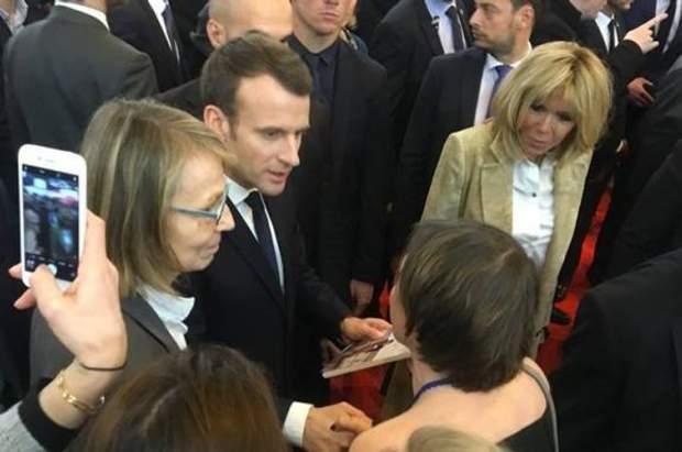 Еммануель Макрон і Бріджит Макрон