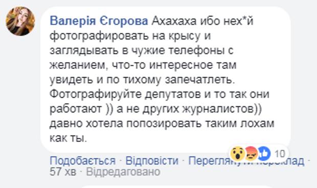Єгорова, скандал, Радикальна партія, Верховна Рада, Доброносов