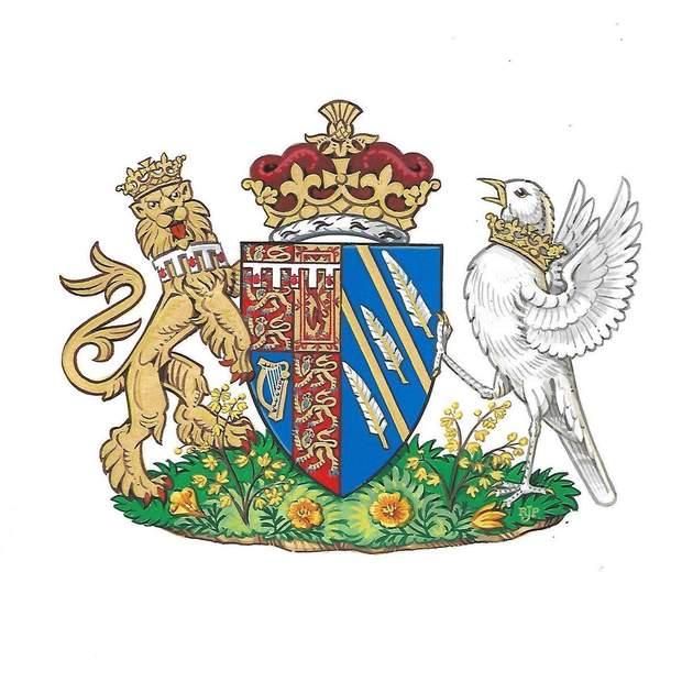 Герб Герцогині Сассекської Меган Маркл