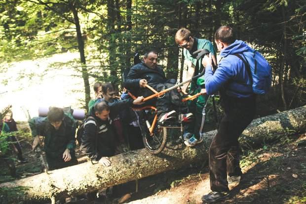 Подорож у гори Юрія Михальчука з командою On 3 Wheels