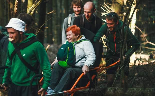 Подорож у гори Оксани Шипош з командою On 3 Wheels