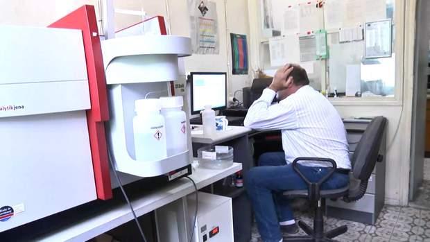 Лабораторія в Українському центрі дослідження моря