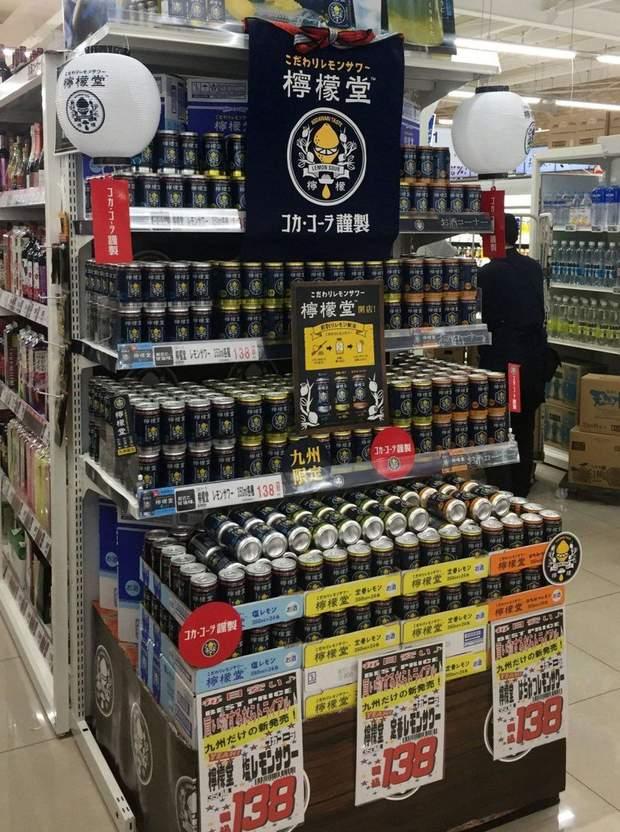 Кока-кола алкоголь Японія