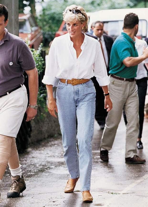 принцеса діана у джинсах