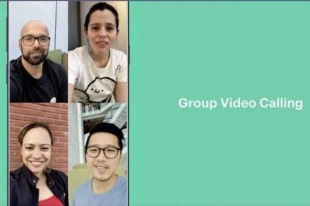 В WhatsApp можна здійснювати групові дзвінки