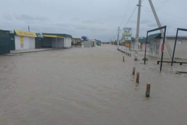 Кирилівка, курорт, підтоплення, шторм