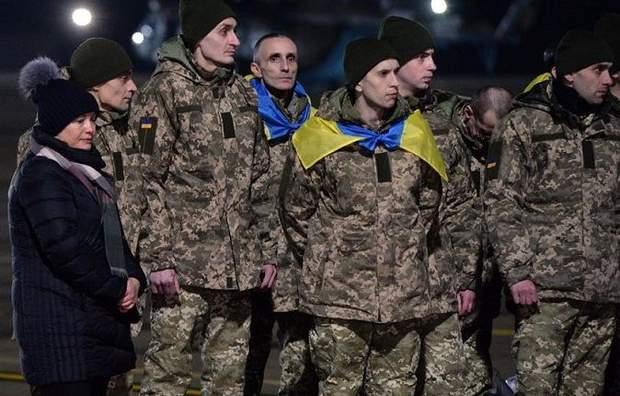 Україна Росія заручники звільнення полонені