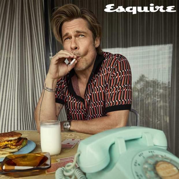 Бред Пітт курить лише тоді, коли цього вимагає сценарій фільму