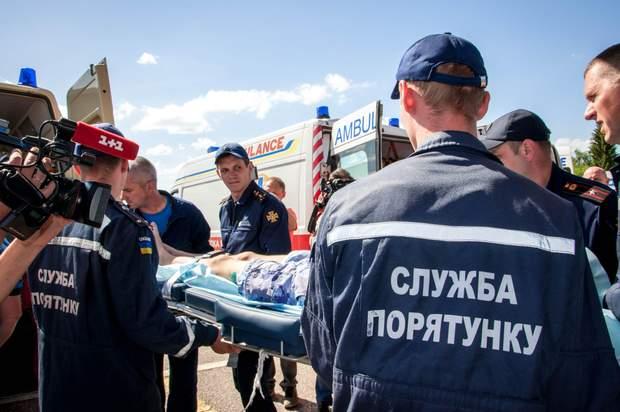 діти, рятувальники, ДТП, Білорусь