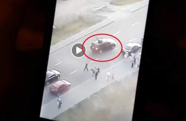 ДТП кортеж Порошенка Київ діти